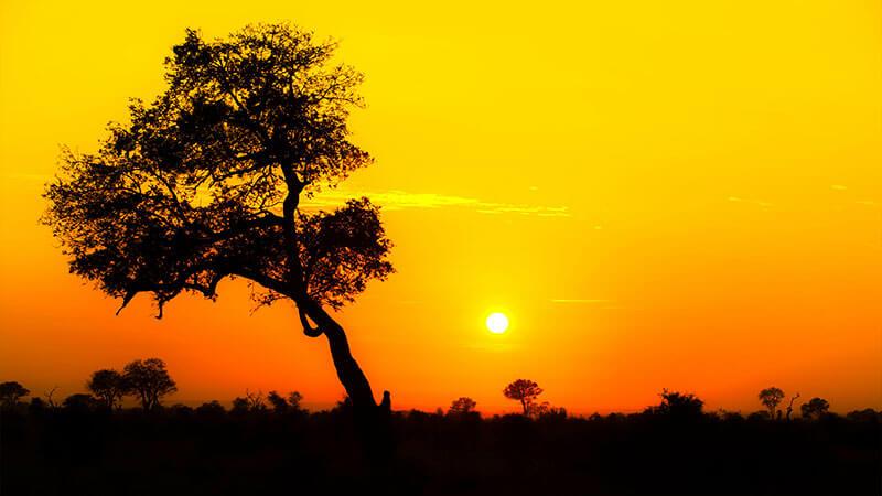 Afrika na mírů - JAR