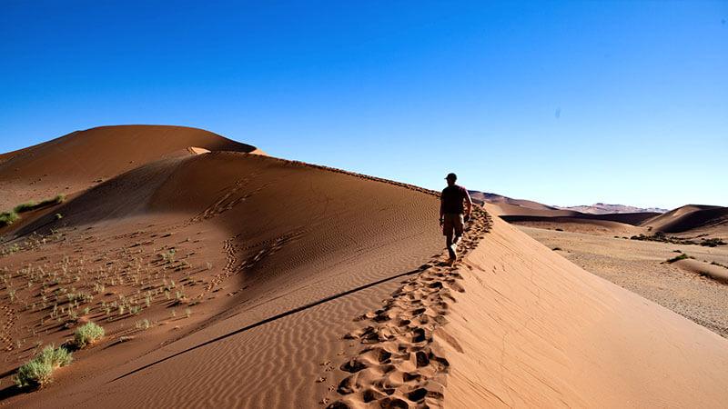 Afrika na mírů - Nambie